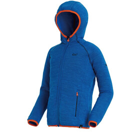 Regatta Dissolver Fleece Jas Kinderen, oxford (blaze orange)